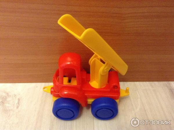 Игрушка Нордпласт Спецтехника: пожарная машина фото