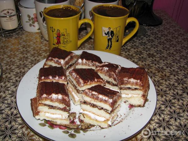 Тирамису бисквит для торта