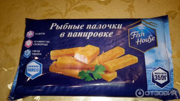 Рыбные палочки в панировке рецепт с фото