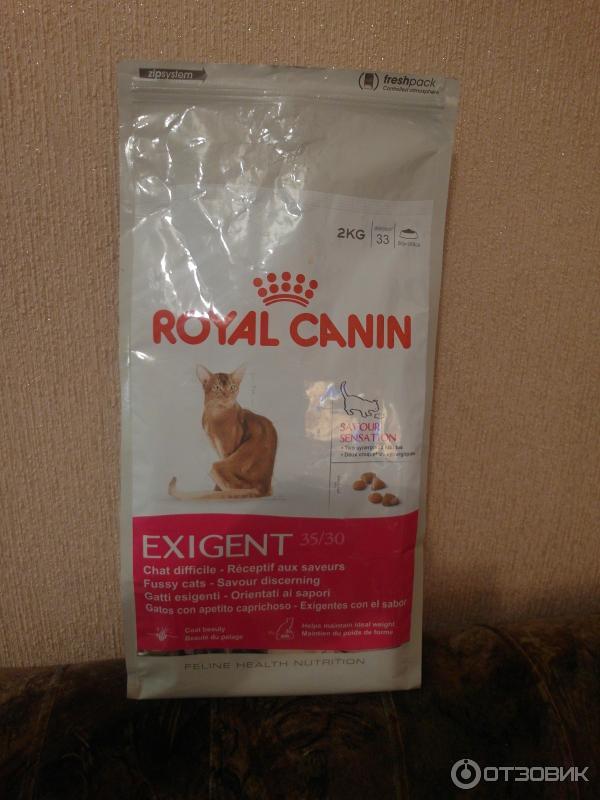 Корм royal canin exigent savour
