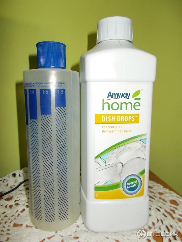 Средство для мытья посуды амвей отзывы
