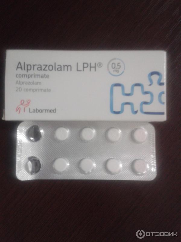 Alprazolam compresse costo