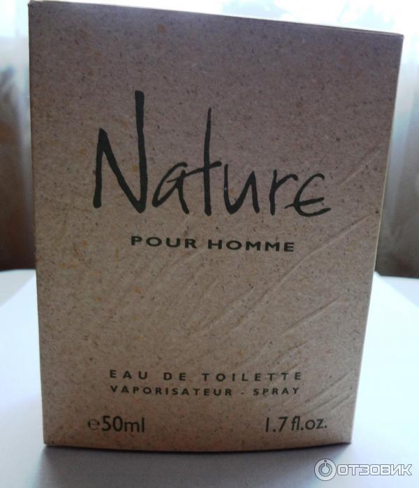 отзыв о мужская туалетная вода Yves Rocher Nature свежий и бодрящий