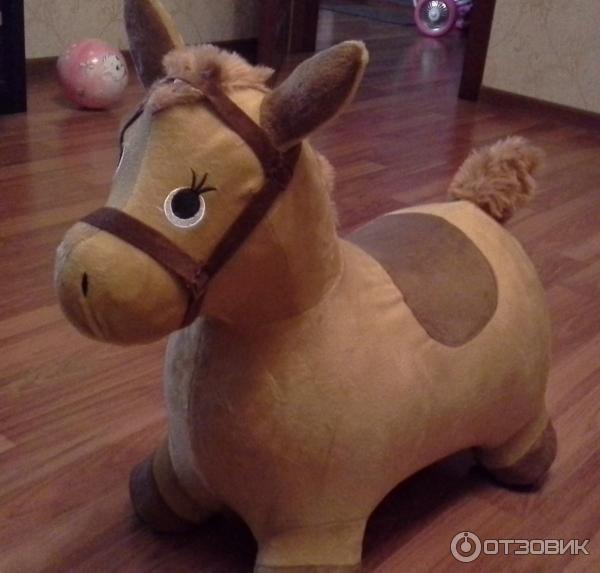 Наша игрушка лошадка-попрыгунчик