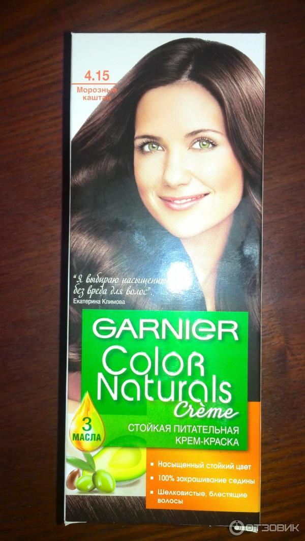 Краска для волос 4.15 морозный каштан отзывы