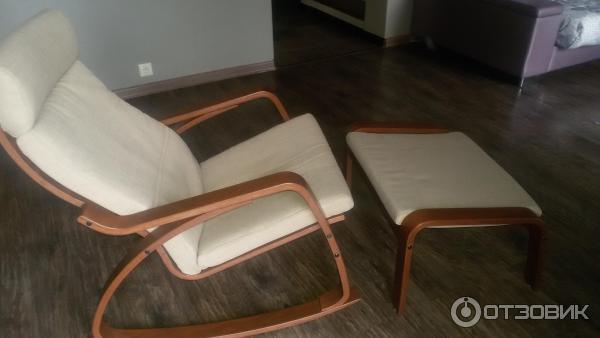отзыв о кресло качалка Ikea просто кресло