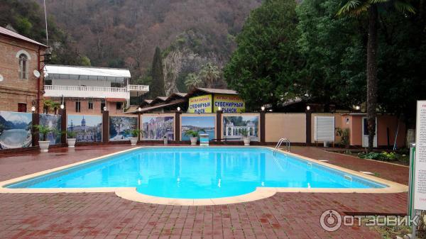 абхазия новый афон отель водопад