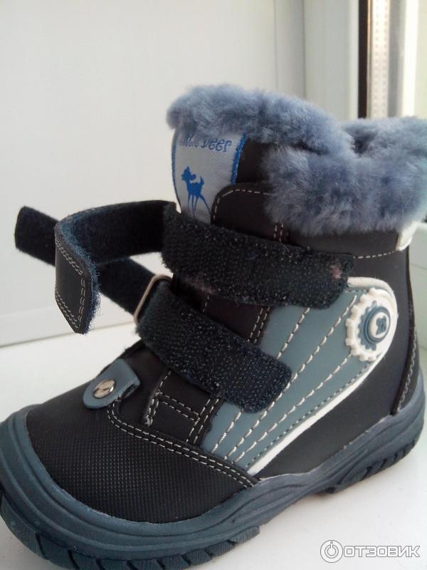 c1386d67841aa3 Отзыв о Детская обувь B&G Little Deer | Наша первая зимняя обувь.