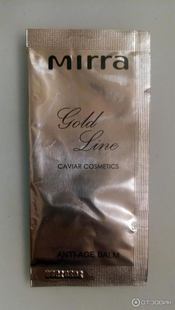 Бальзам омолаживающий Mirra Gold Luxe Anti-Age фото