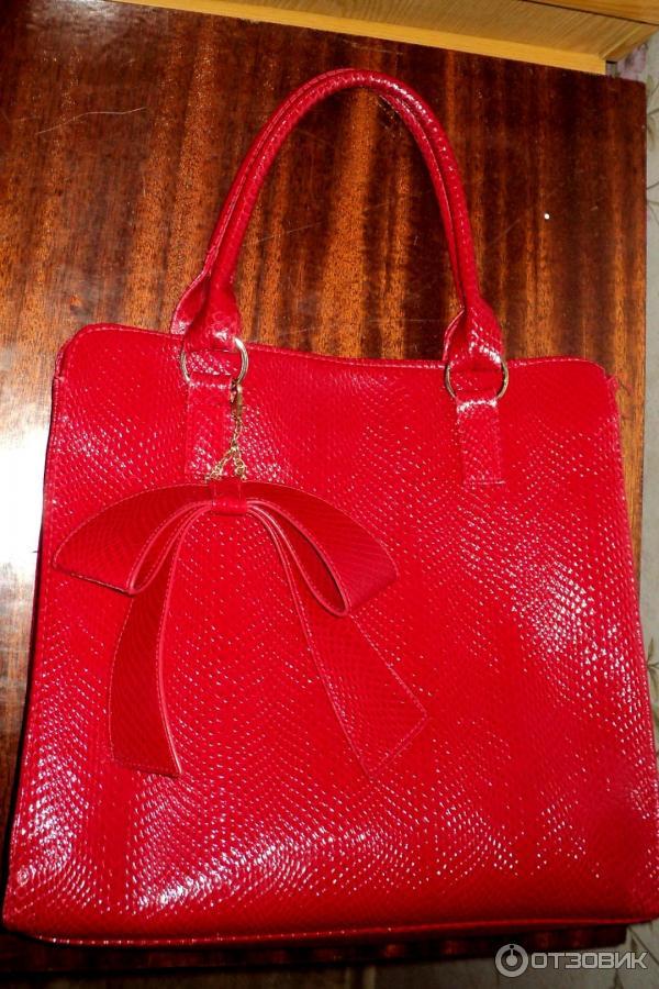 сумки эйвон красная через плечо - Сумки