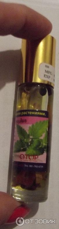 Тайский бальзам с лекарственными растениями