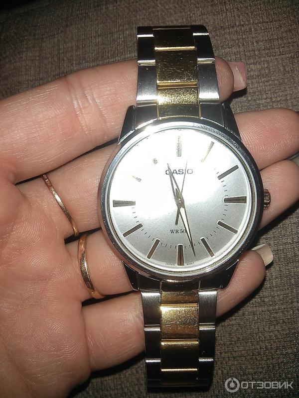 Casio Beside - купить часы casio beside bem wr50m в