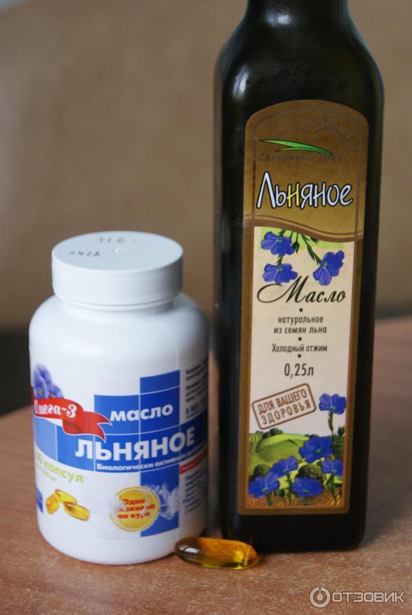 Льняное масло для похудения - применение, польза