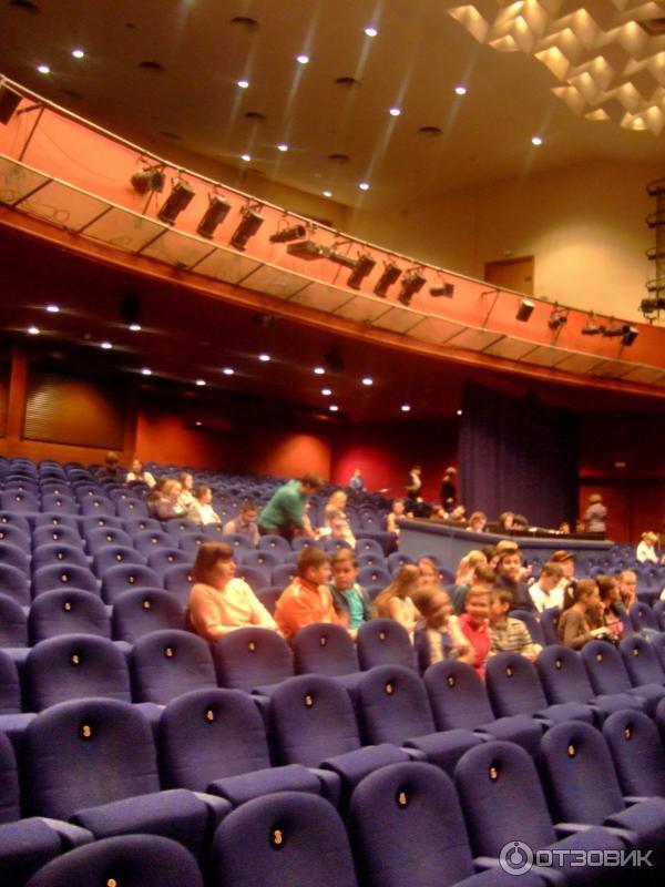 Театриум на серпуховке  зала