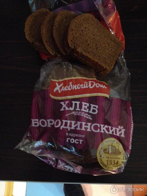 Бородинского хлеба в домашних условиях