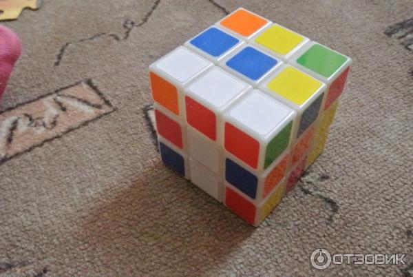 Как на картоне сделать кубик рубик