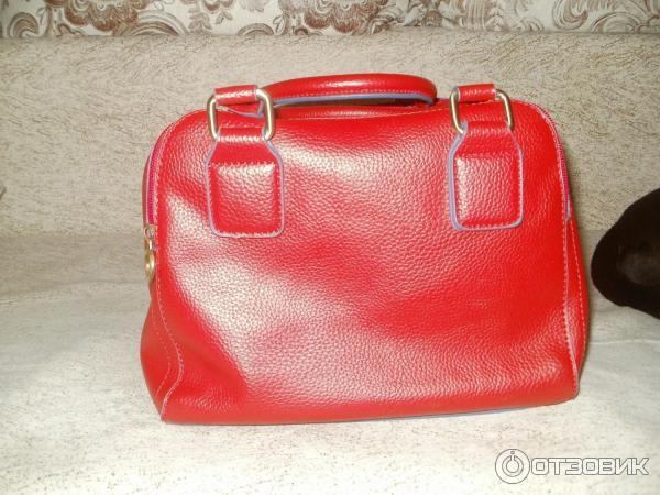 Daniele patrici сумка красная