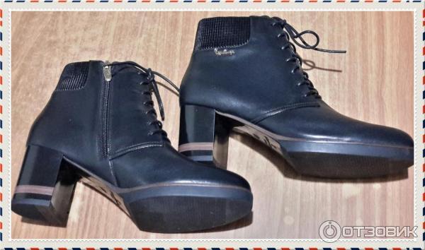 7a0ebe7b Отзыв о Ботильоны женские Pierre Cardin | Именно обувь делает ...