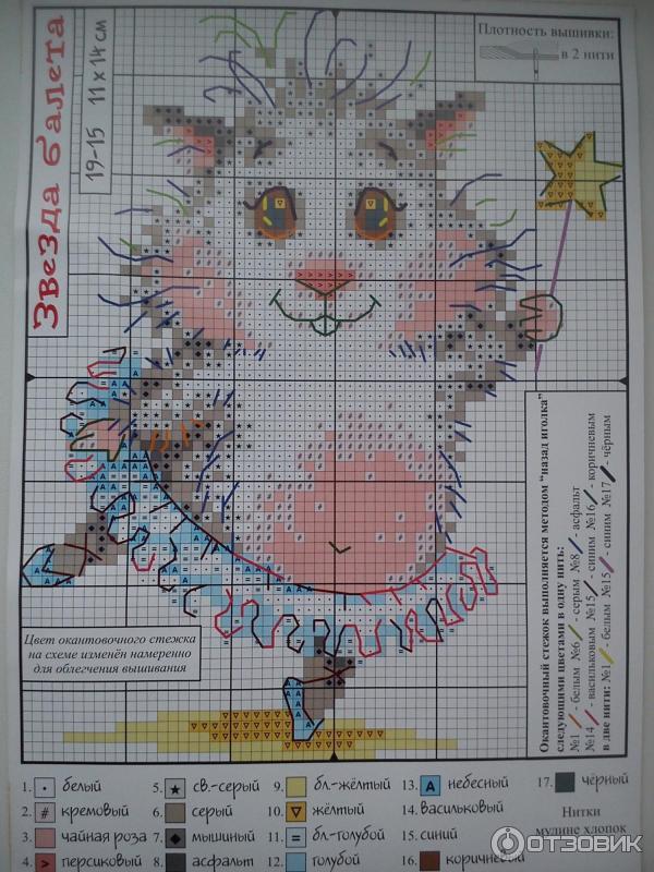 Схемы вышивок хомячков