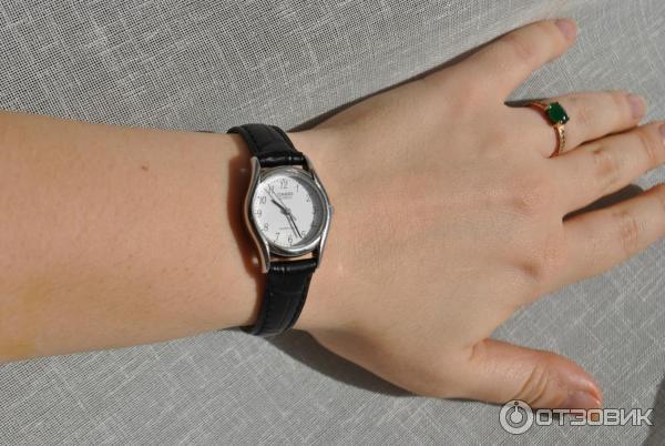 отзыв о часы женские наручные Casio Ltp 1154 хорошие часы с плохим