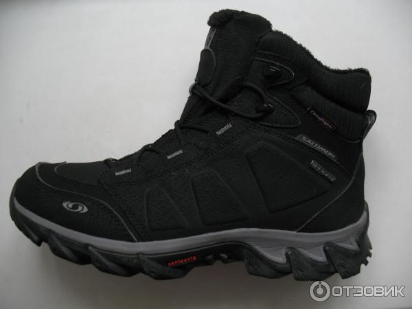 9b90963a Отзыв о Зимние мужские ботинки Salomon Elbrus WP | Теплая, легкая ...