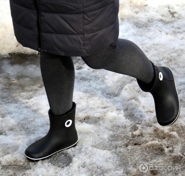 ec608fa65b6 Отзыв о Сапоги женские Crocs Women's Jaunt Shorty Boot | Сапоги ...