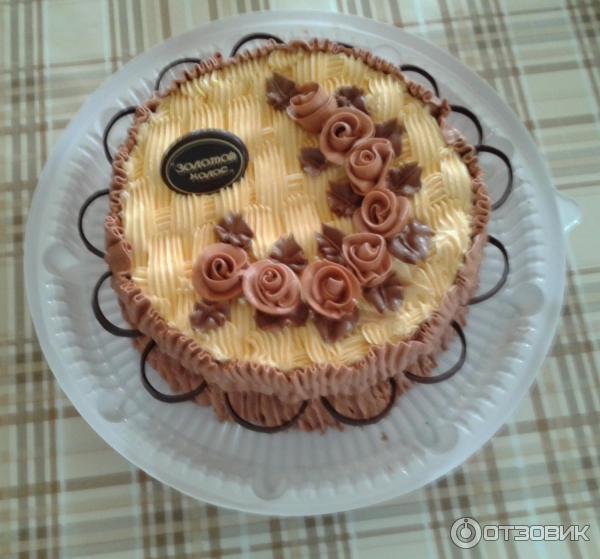 Золотой колос, торты фото