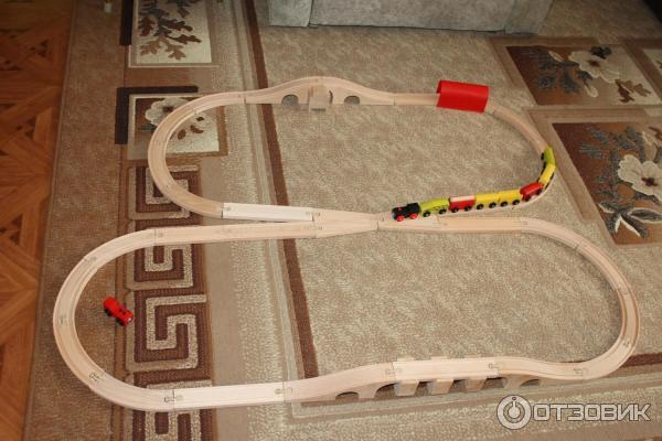 Как сделать деревянную железную дорогу