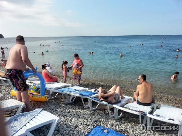 Пляжи Алупки, Крым Карта и описание всех пляжей в Алупке 18
