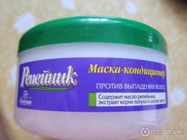 Маска-кондиционер репейник против выпадения волос отзывы