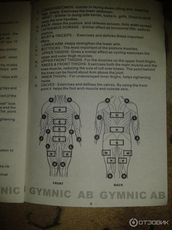 abgymnic инструкция на русском языке