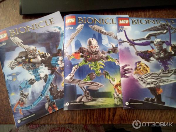 Lego Bionicle 2016 Инструкции - фото 7