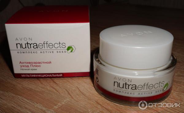 Avon nutra effects антивозрастной уход плюс