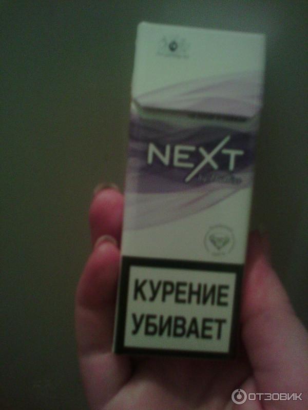 некст виолет сигареты фото