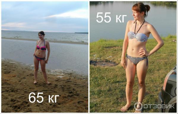 Как похудеть с 68 кг до 55 кг