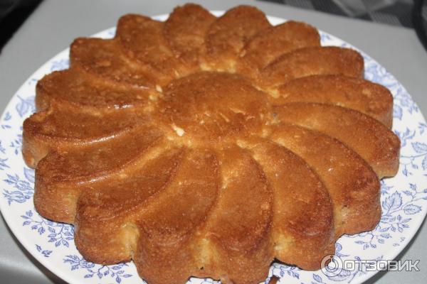Рецепт бисквита в силиконовой форме