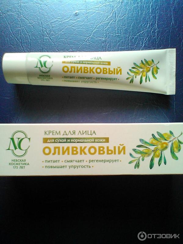 Невская косметика крем оливковый состав
