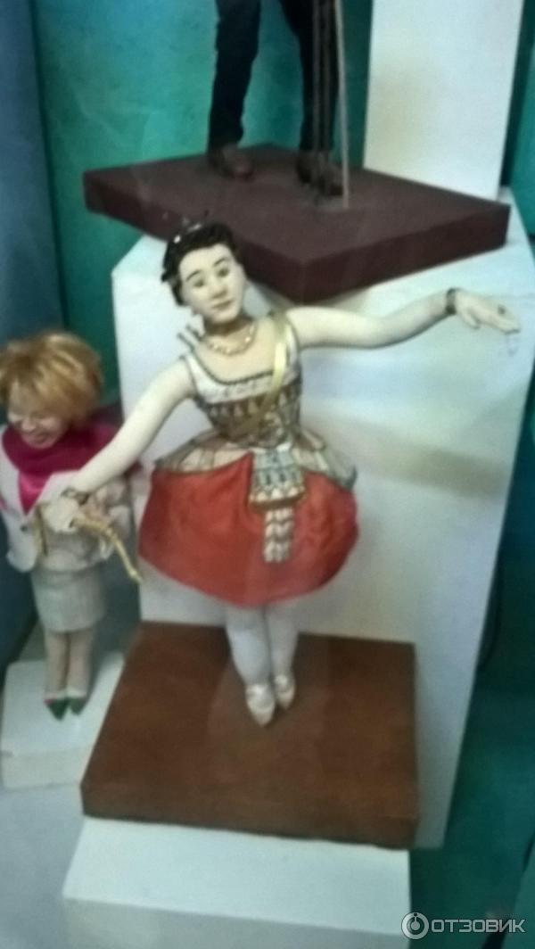 в музее кукол (Россия, Санкт-Петербург)