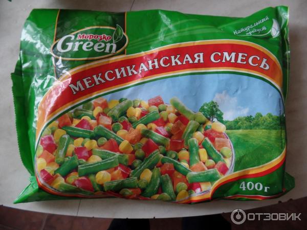 Замороженная овощная смесь своими руками 175