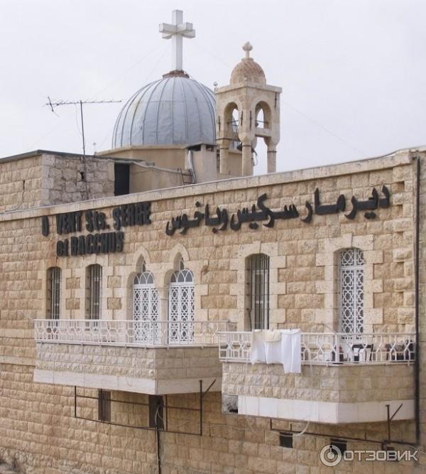 Экскурсия в монастырь святых Сергия и Бахуса (Сирия, Маалюля) фото