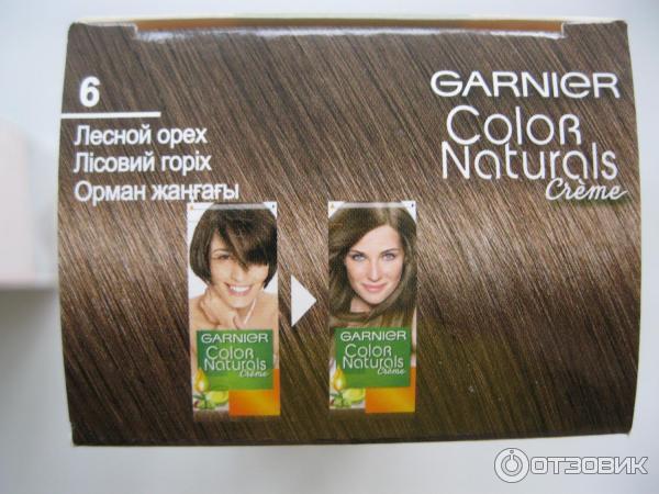 Краска для волос лесной орех фото до и после