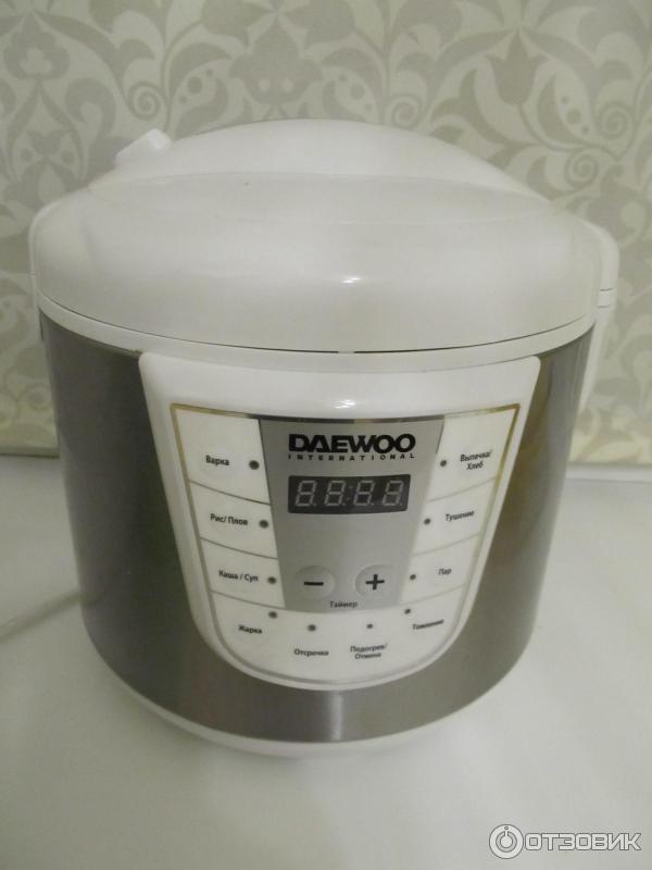 Отзыв о Мультиварка Daewoo DMC-932 Моя помощница и любимица!