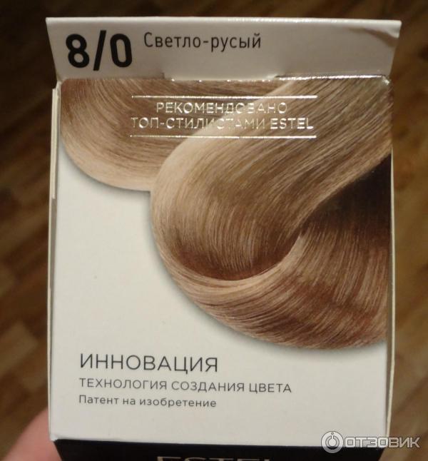 Отзывы краска для волос estel celebrity