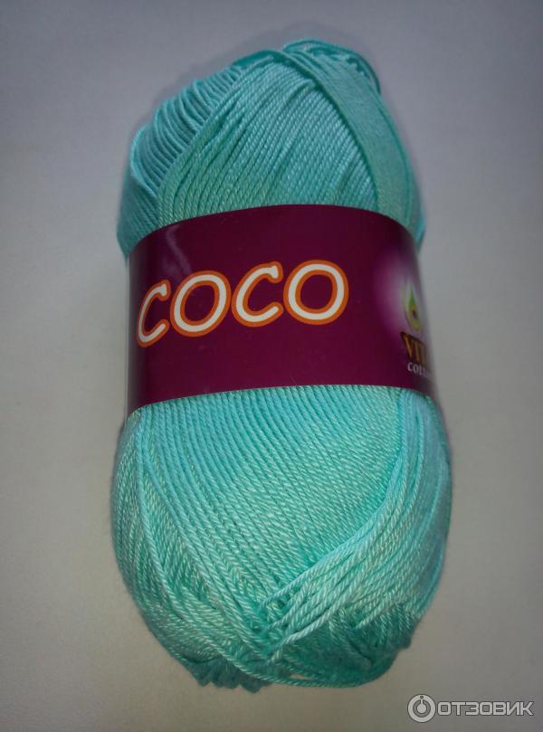 Нитки коко для вязания крючком 678