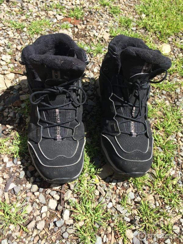 e941d760 Отзыв о Зимние мужские ботинки Salomon Elbrus WP | Супер ботинки на ...
