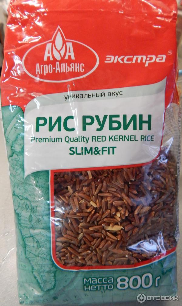 рис рубиновый польза