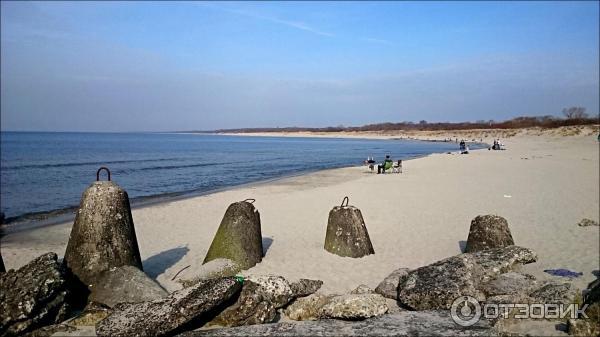России лучший пляж в калининградской области виду