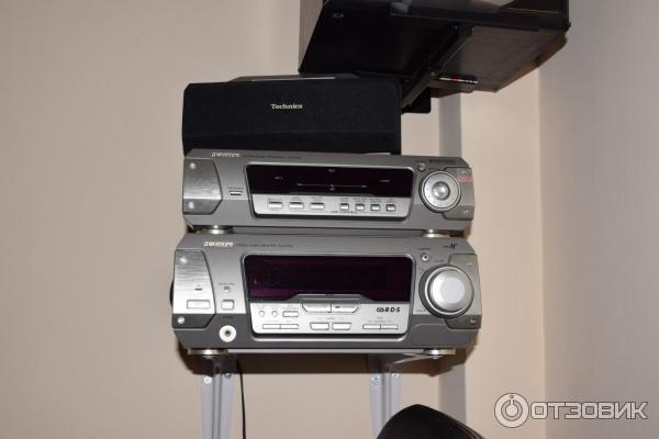 аудио-видео-стерео звуковой процессор technics sh-dv280