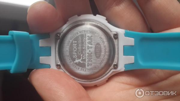 часы Sport тик так инструкция - фото 3