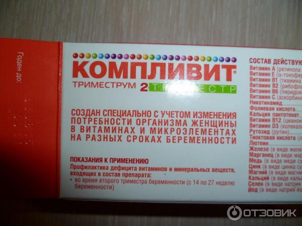Витамины на 2 триместре беременности